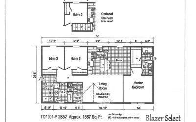 Commodore Blazer Select TD1001P  #4611